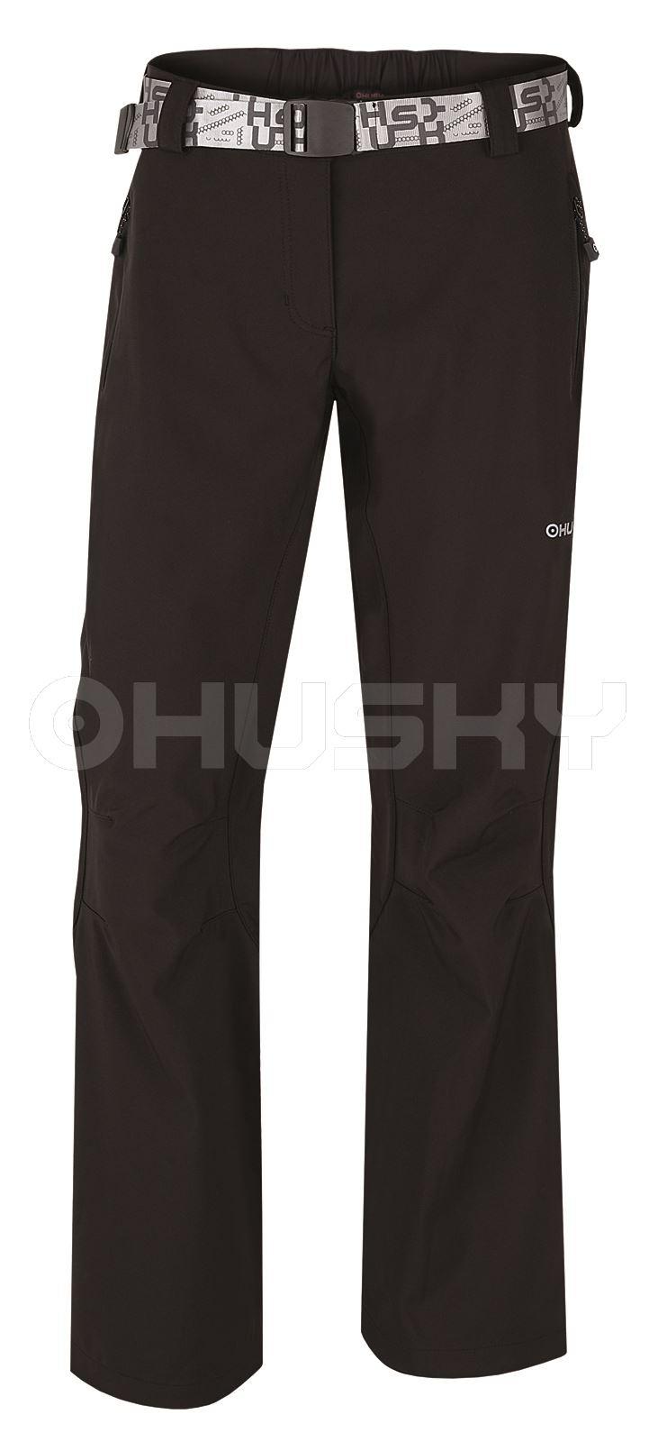 Husky Pánské outdoor kalhoty Komen černá Velikost: XL