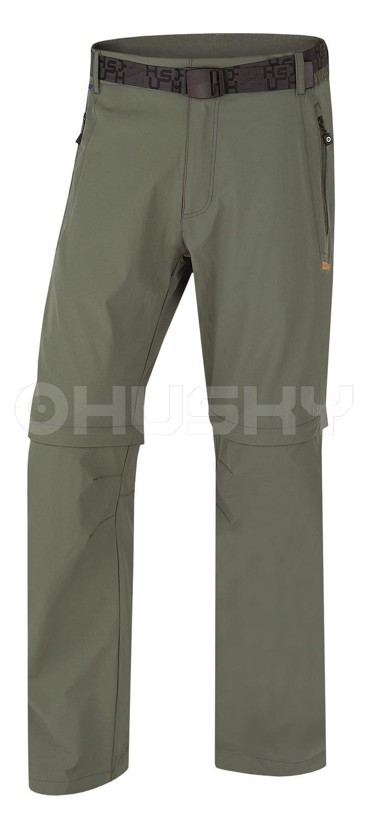 Husky Pánské outdoor kalhoty Pilon M zelená Velikost: M